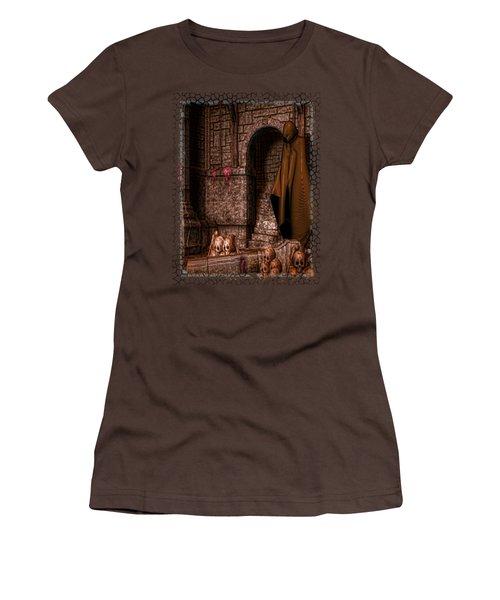 The Dark Women's T-Shirt (Junior Cut) by Sharon and Renee Lozen