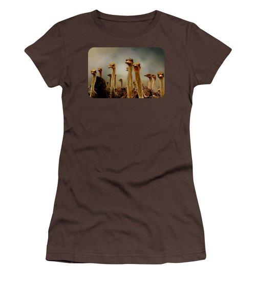 The Savannah Gang Women's T-Shirt (Junior Cut) by Linda Koelbel