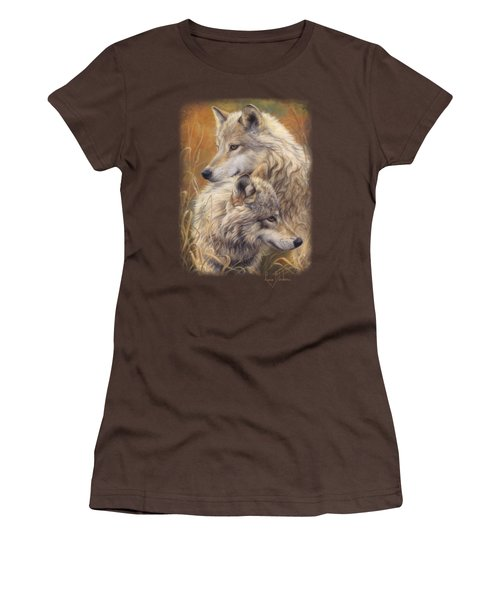Together Women's T-Shirt (Junior Cut) by Lucie Bilodeau
