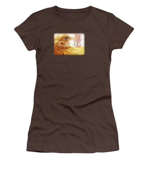 Vanity Fair - Verse Women's T-Shirt (Junior Cut) by Anita Faye