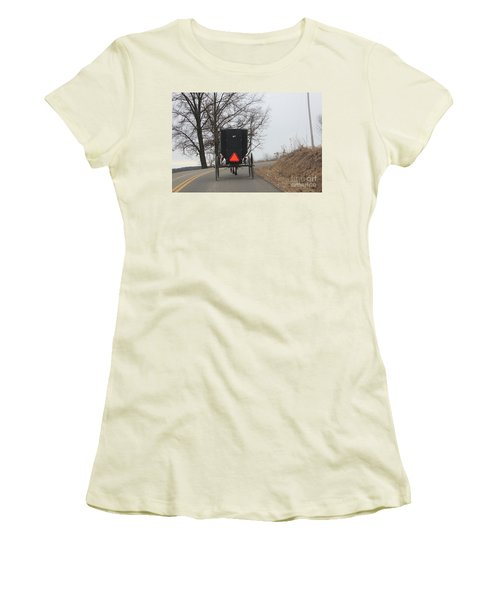 A Slow Go Women's T-Shirt (Athletic Fit)