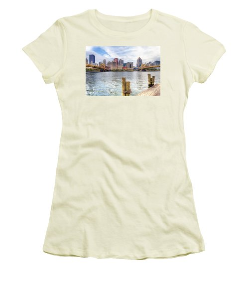 0310 Pittsburgh 3 Women's T-Shirt (Athletic Fit)