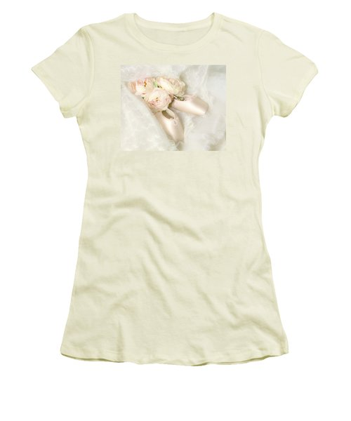 Ballet Shoes Women's T-Shirt (Athletic Fit)