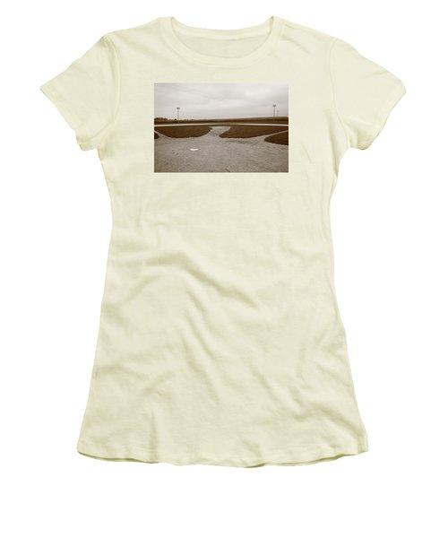 Baseball Women's T-Shirt (Junior Cut) by Frank Romeo
