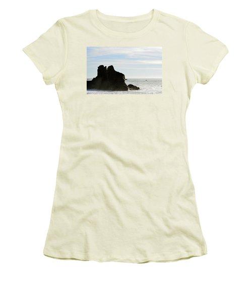 Beach Beauty  Women's T-Shirt (Athletic Fit)