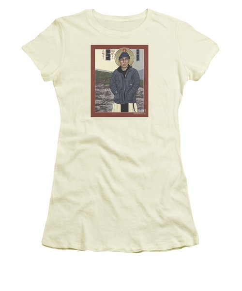 Holy World Evangelist Thomas Merton 267 Women's T-Shirt (Athletic Fit)