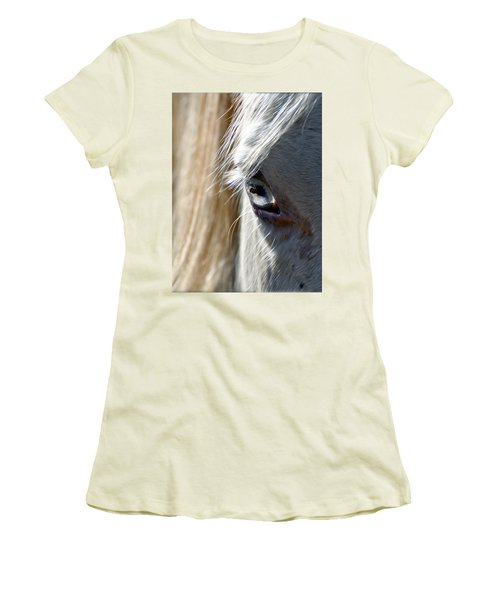Horse Eye Women's T-Shirt (Athletic Fit)