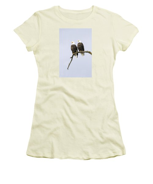 Women's T-Shirt (Junior Cut) featuring the photograph Majestic Beauty 2 by David Lester
