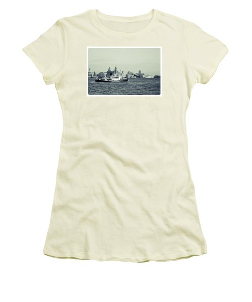 Mersey Ferry Women's T-Shirt (Athletic Fit)