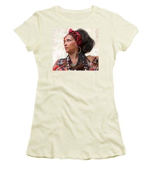 Santeria Woman Women's T-Shirt (Athletic Fit)