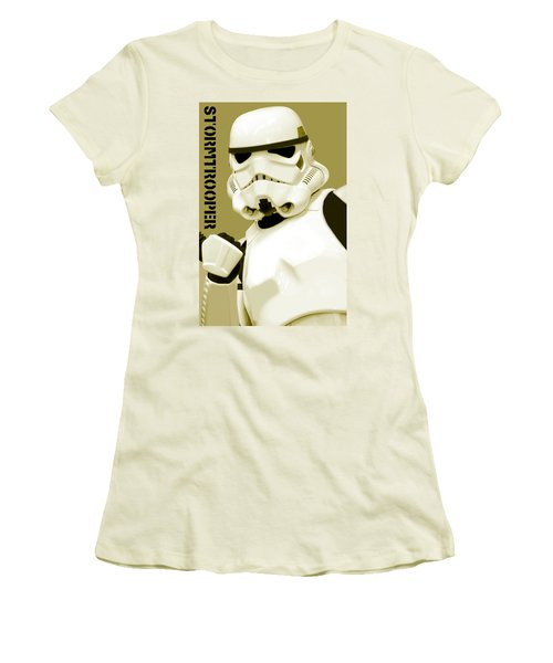 Star Wars Stormtrooper Women's T-Shirt (Athletic Fit)