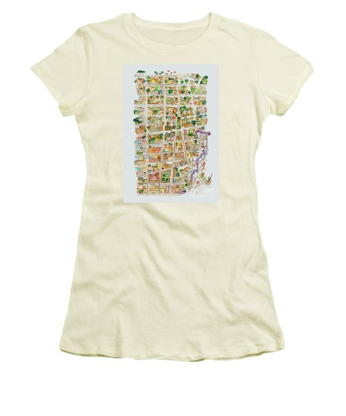 The Way West Village Women's T-Shirt (Athletic Fit)
