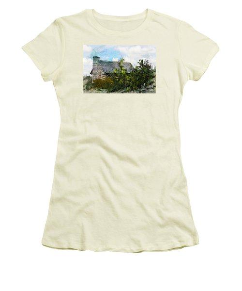 Women's T-Shirt (Junior Cut) featuring the photograph 1810 Living by Robert Pearson