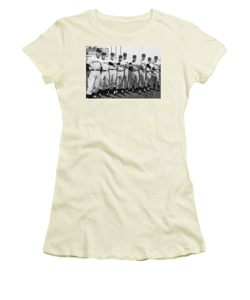 1961 San Francisco Giants Women's T-Shirt (Athletic Fit)