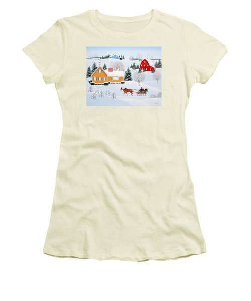 Almost Home Women's T-Shirt (Athletic Fit)
