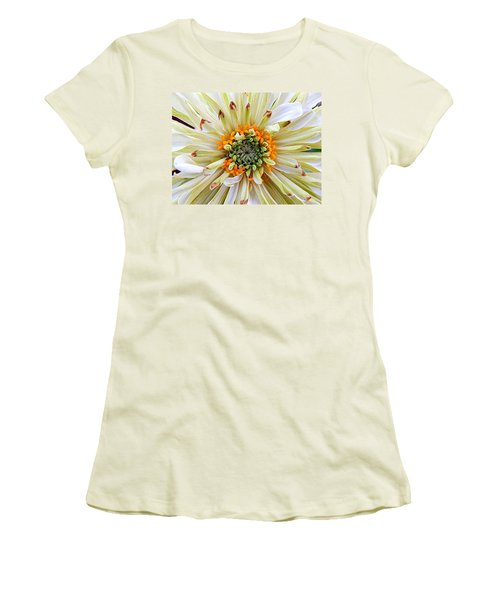 Chrysanthemum Fall In New Orleans Louisiana Women's T-Shirt (Junior Cut) by Michael Hoard