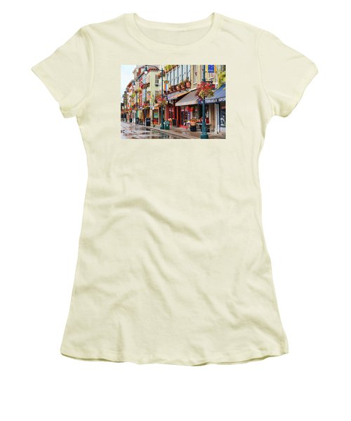 Findlay Market In Cincinnati 0009 Women's T-Shirt (Athletic Fit)