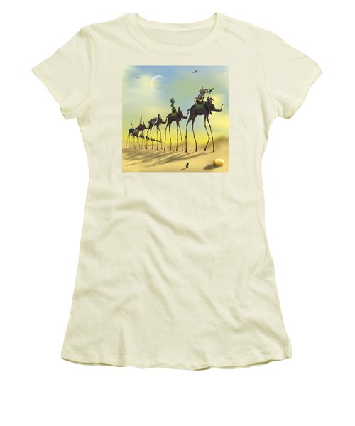 On The Move Women's T-Shirt (Junior Cut) by Mike McGlothlen