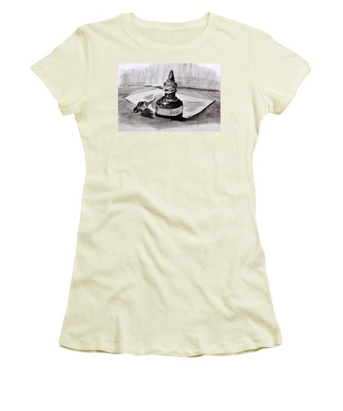 Pen And Ink Women's T-Shirt (Athletic Fit)