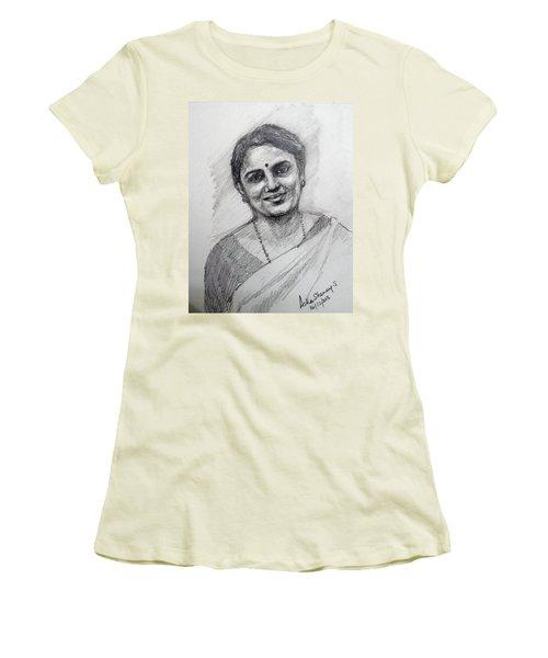 Self-portrait Women's T-Shirt (Athletic Fit)