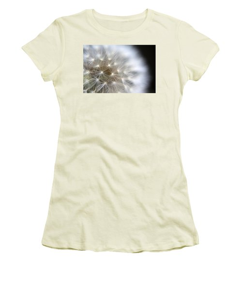 Dandelion Backlit Close Up Women's T-Shirt (Athletic Fit)