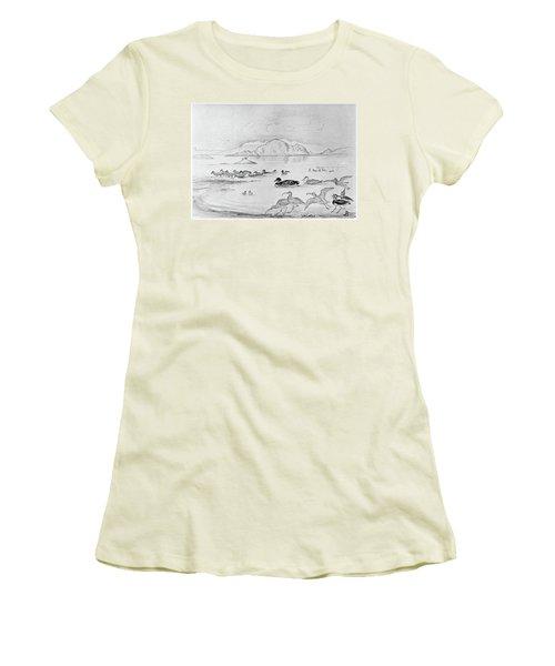 Blackburn Birds, 1895 Women's T-Shirt (Athletic Fit)