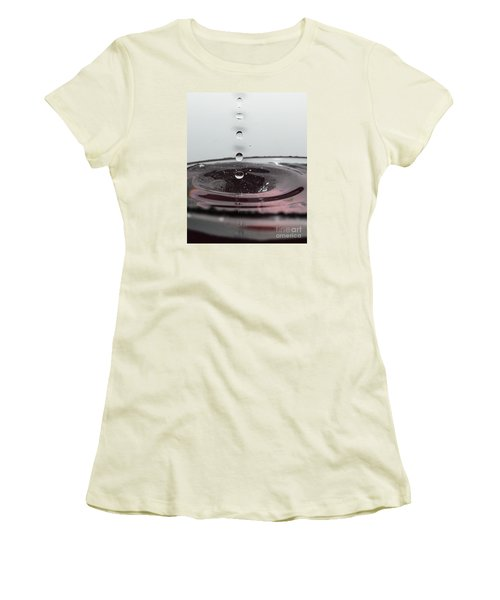 5 Water Drops Women's T-Shirt (Athletic Fit)