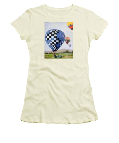 A Balloon Disaster Women's T-Shirt (Athletic Fit)