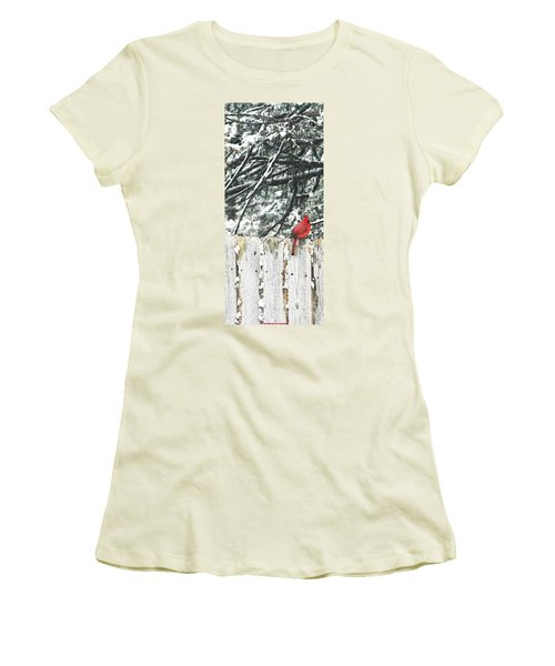 A Christmas Cardinal Women's T-Shirt (Athletic Fit)