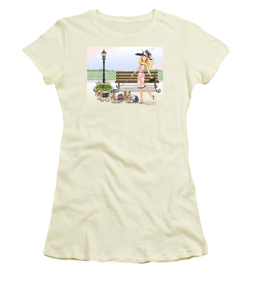 A Day At The Derby Women's T-Shirt (Athletic Fit)
