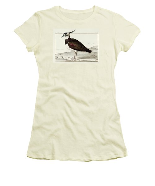 A Lapwing Women's T-Shirt (Junior Cut) by Nicolas Robert