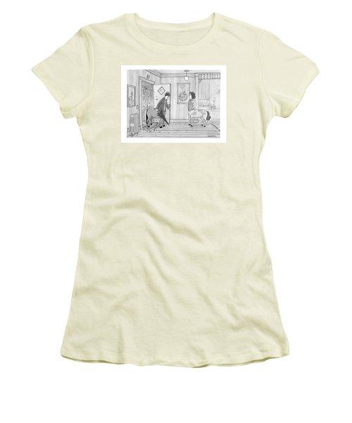 A Male Centaur Women's T-Shirt (Athletic Fit)