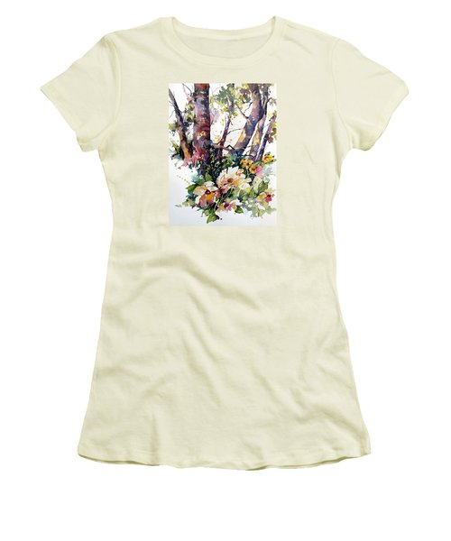 A Quiet Place Women's T-Shirt (Junior Cut) by Rae Andrews