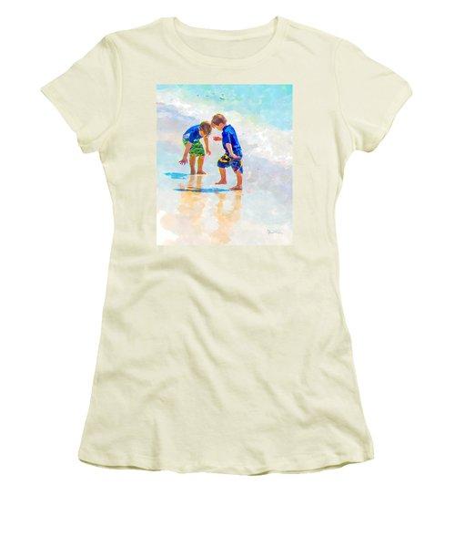 A Summer To Remember Iv Women's T-Shirt (Junior Cut) by Susan Molnar