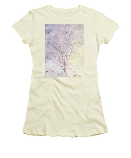 A Tree In Winter Women's T-Shirt (Athletic Fit)