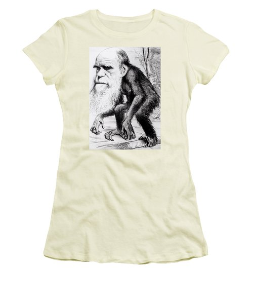 A Venerable Orang Outang Women's T-Shirt (Junior Cut) by English School