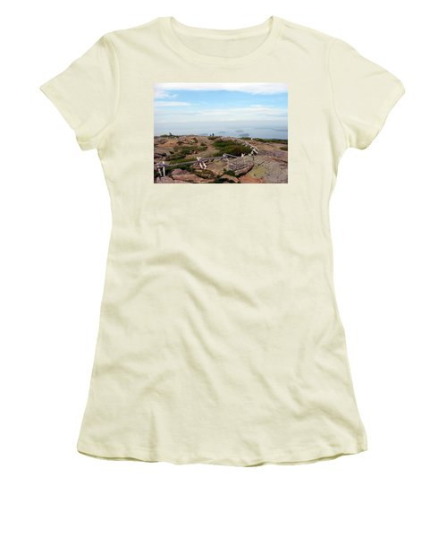 A Walk On The Mountain Women's T-Shirt (Athletic Fit)