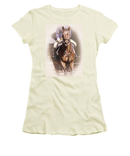 A Willing Servant Women's T-Shirt (Junior Cut) by Linsey Williams