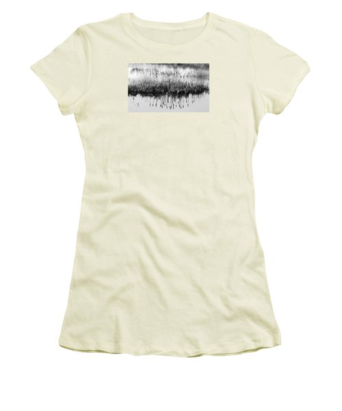 Women's T-Shirt (Junior Cut) featuring the photograph A Winter Bouquet by I'ina Van Lawick