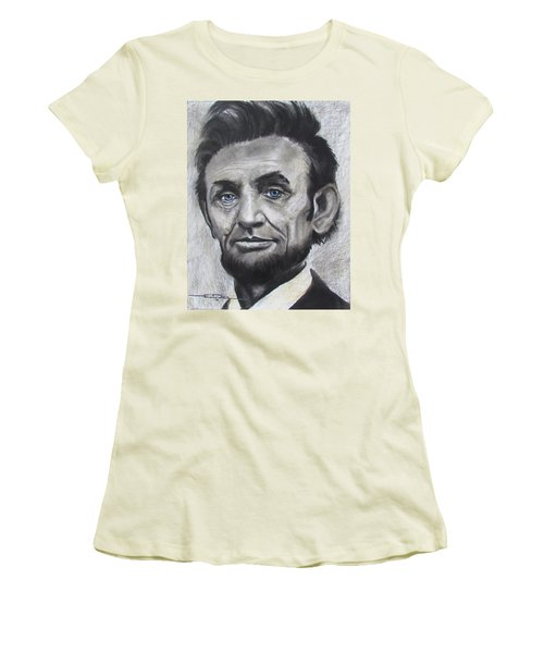 Abraham Lincoln Women's T-Shirt (Athletic Fit)
