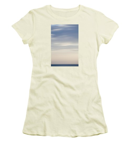 Abstract Seascape No. 03 Women's T-Shirt (Athletic Fit)