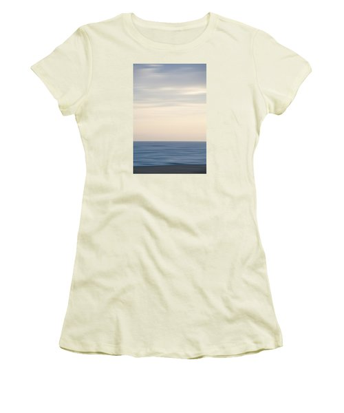 Abstract Seascape No. 04 Women's T-Shirt (Athletic Fit)