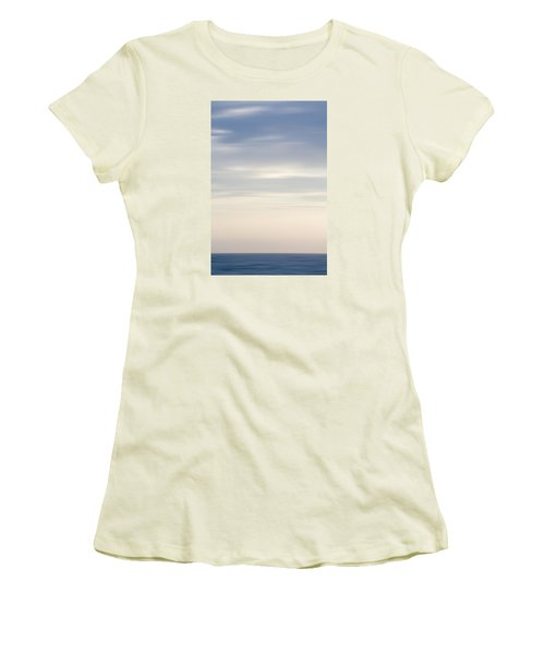 Abstract Seascape No. 05 Women's T-Shirt (Athletic Fit)