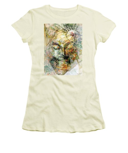 Abstraction 482-10-13 Marucii Women's T-Shirt (Athletic Fit)
