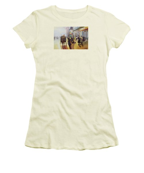 Acrylic Msc 178  Women's T-Shirt (Junior Cut) by Mario Sergio Calzi