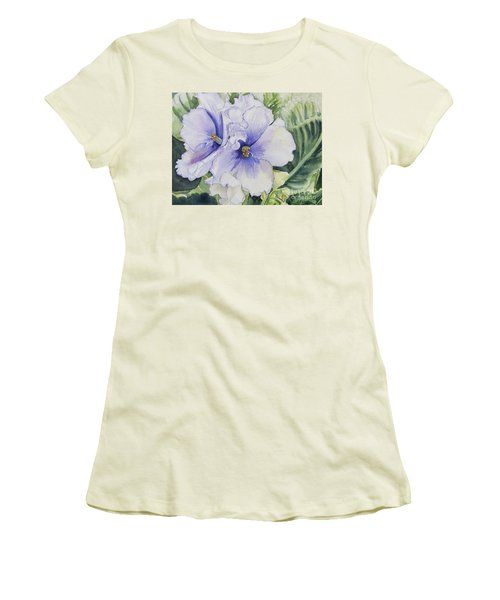 African Violet Women's T-Shirt (Junior Cut)