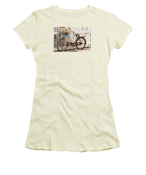 Americana Women's T-Shirt (Junior Cut) by Art Block Collections