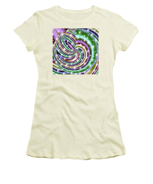 Women's T-Shirt (Junior Cut) featuring the digital art And He Called Them Stars by Luther Fine Art