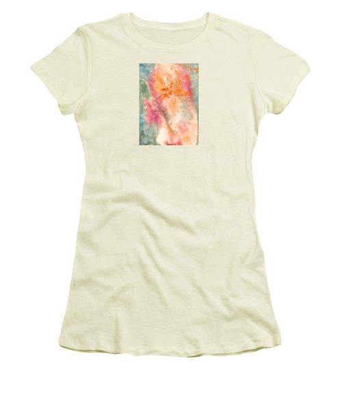 Angel Of Light Women's T-Shirt (Junior Cut) by Lynda Hoffman-Snodgrass