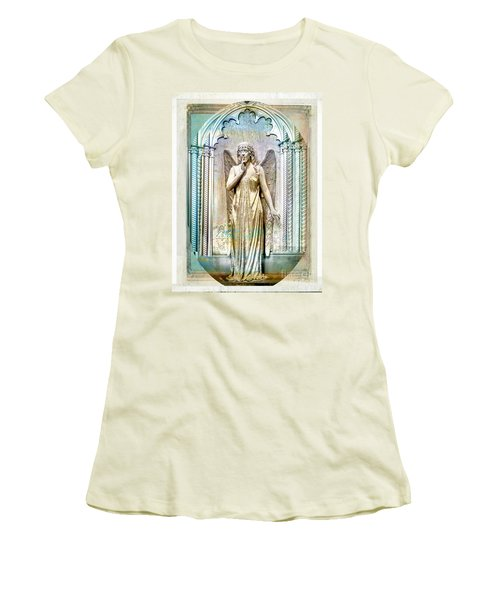 Angel Of Silence.genoa Women's T-Shirt (Athletic Fit)